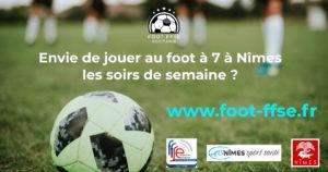 Foot à 7 à Nîmes