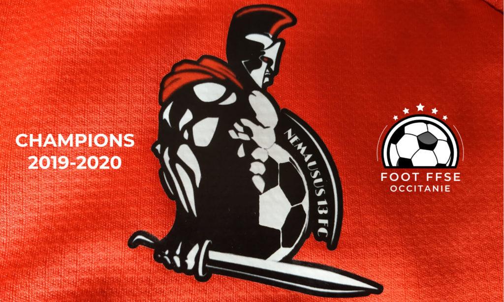 Nemausus FC 1 champion 2019-20